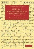 #220;ber die Kawi-sprache auf der Insel Java