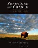 Bundle: Functions and Change: A Modeling Approach to College Algebra, 4th + ced WebAssign Ho...