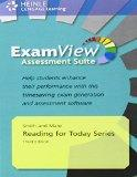 Reading for Today Series ExamView Assessment Suite, Third Edition