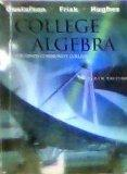 College Algebra for Hinds Community College Mississippi Tenth Edition - Gustafson - Frisk - ...