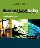 Bundle: Business Law Today, Standard Edition, 9th + CengageNOW Printed Access Card
