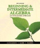 Bundle: Beginning and Intermediate Algebra: An Integrated Approach, 6th + Enhanced WebAssign...