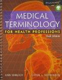 Medical Terminology for Health Professions (Book Only)