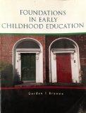 Foundations in Early Childhood Education Cengage Learning
