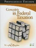 Concepts in Federal Taxation 2012, Professional Edition (with H&R BLOCK At Home Income Tax F...