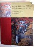 Accounting Information for Business Decisions (Custom Title for University of Missouri's ACC...