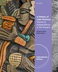 A History of Latin America Vol. 2.