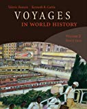 Bundle: Voyages in World History, Volume 2 + CourseReader 0-30: World History Printed Access...
