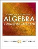 Bundle: Elementary and Intermediate Algebra: A Combined Approach, 6th + Enhanced WebAssign w...