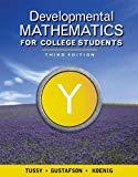 Bundle: Developmental Mathematics for College Students, 3rd + Enhanced WebAssign with eBook ...