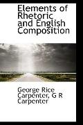 Elements of Rhetoric and English Composition