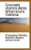 Giornale storico della letteratura italiana