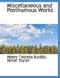 Miscellaneous and Posthumous Works