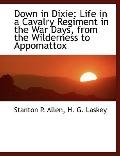 Down in Dixie: Life in a Cavalry Regiment in the War Days, from the Wilderness to Appomattox