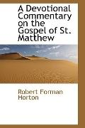 A Devotional Commentary on the Gospel of St. Matthew