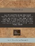 Saint Augustines confessions translated and with some marginal notes illustrated, wherein di...