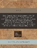 The Concurrence & unanimity of the people called Quakers in owning and asserting the princip...