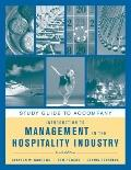 Introduction to Management in the Hospitality Industry, Study Guide