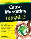 Cause Marketing For Dummies (For Dummies (Business & Personal Finance))