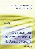 Evaluation Theory, Models, and Applications (Research Methods for the Social Sciences)