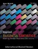 Applied Business Statistics