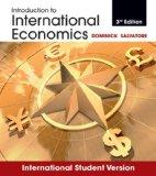 Introduction to International Economics. Dominick Salvatore