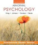 Abnormal Psychology Twelfth Edition International Student Version