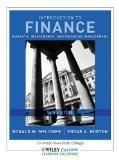 Introduction to Finance 14th Edition for Indian River State College
