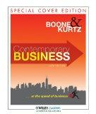 Contemporary Business 14th Edition for Western District