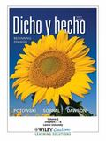 Dicho y hecho 9th Edition Volume 1 Chapters 1-8 for Lamar University (Spanish Edition)