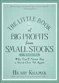 Little Book of Big Profits from Small Stocks + Website : Why You Will Never Buy a Stock over...