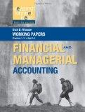Working Papers, Volume 1,  to accompany Weygandt Financial & Managerial Accounting
