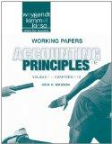 Working Papers Vol 1 t/a Accounting Principles, 11th Edition
