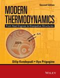 Modern Thermodynamics : From Heat Engines to Dissipative Structures. 2nd Edition