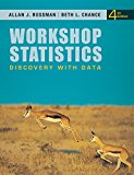 Workshop Statistics: Discovery with Data 4e + WileyPLUS Registration Card