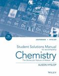 Student Solutions Manual to Accompany Chemistry: The Molecular Nature of Matter