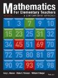 Mathematics for Elementary Teachers: A Contemporary Approach 10e + WileyPLUS Registration Ca...