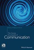 Concise Encyclopedia of Communication
