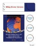 Fundamentals of Engineering Thermodynamics, 8th Edition Binder Ready Version