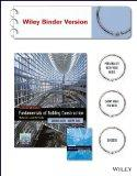 Fundamentals of Building Construction with Exercises in Building Construction Wiley Binder V...
