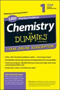 1,001 Chemistry Practice Problems for Dummies, Access Code Card (1-Year Subscription)