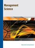 Management Science Custom Edition