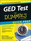 GED Test For Dummies, Quick Prep Edition (For Dummies (Career/Education))