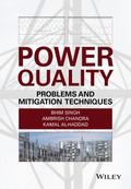 Power Quality Problems and Mitigation Techniques