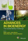 Advances in Bioenergy : The Sustainability Challenge
