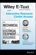 Mechanical and Electrical Equipment for Buildings, 12th Edition Wiley E-Text Card and Intera...