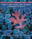Functions Modeling Change: A Preparation for Calculus 5e + WileyPLUS Registration Card