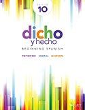 Dicho y hecho: Beginning Spanish 10e + WileyPLUS Registration Card
