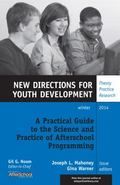 Practical Guide to the Science and Practice of Afterschool Programming, YD 144