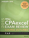 2015 Wiley CPAexcel Exam Review Course Outlines FAR Financial Accounting and Reporting Part 2